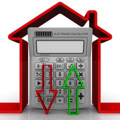 Изменение цен на недвижимость. Концепция