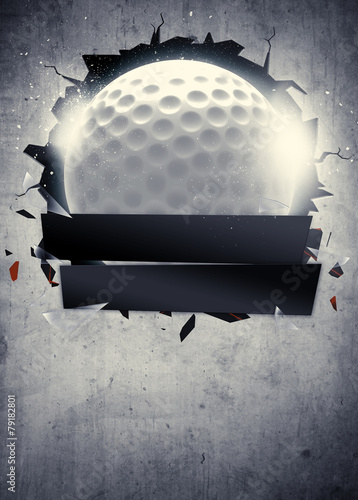 Fotobehang Golf Golf background