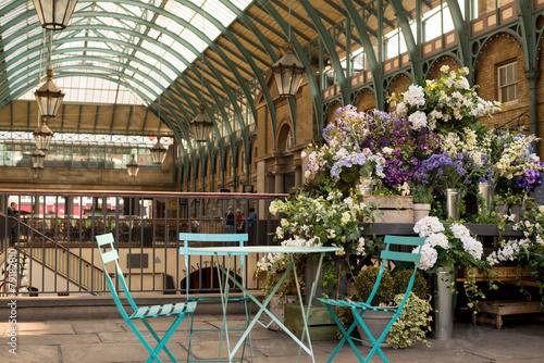 Leinwanddruck Bild Covent Garden market, London