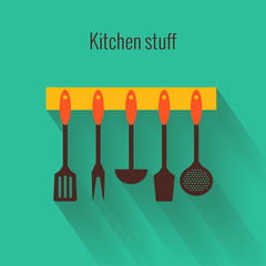 Flat concept for cooking
