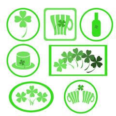 clover labels