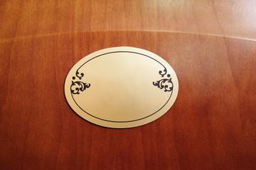 Closeup hotel door number