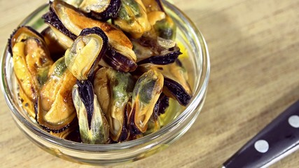 Preserved Mussels (seamless loopable)