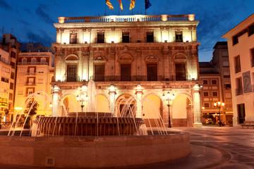 City Hall at Castellon de la Plana. Valencian Community, Spain