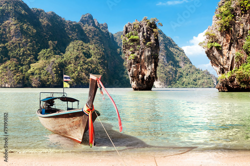 James Bond Island, Phang Nga, Thailand - 79190882