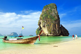 Railay beach. Krabi, Thailand