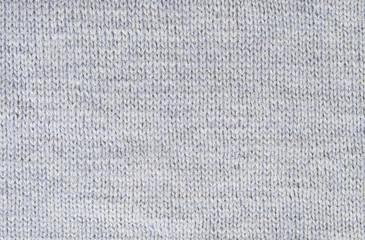 Background small pattern of gray wool knitting yarn