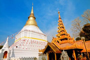 temple Phra Kaeo Don Tao in Lampang, Thailand