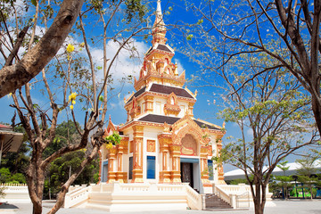 a new church in province of Ayutthaya, Thailand