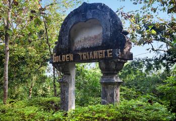 Gateway to Golden Triangle, Sop Ruak, Thailand