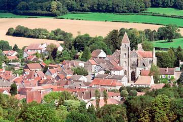 Saint-Seine-l'Abbaye, department of Cote-d'Or, prefecture Dijon,