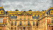 Leinwandbild Motiv Facade of the Palace of Versailles - France