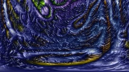 Alien skin mud generated seamless loop video