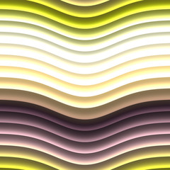 Color waves generated texture
