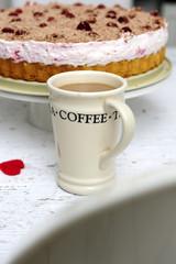 coffie, cream, cup, dessert, drink, glass, hot, latte, milk,