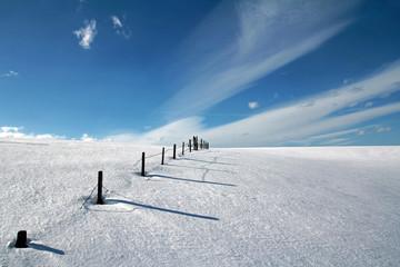 Sonnige Winterlandschaft