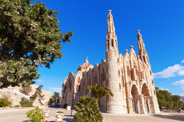 Kloster  Santa Maria Magdalena in Novelda, Spanien