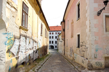 Historical Street in Center