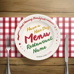 creative restaurant menu design