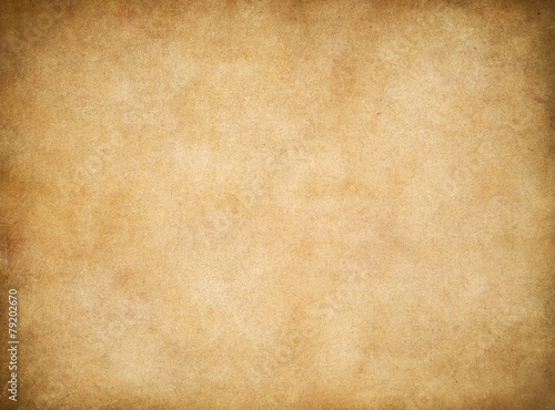 Vintage aged worn paper texture background - 79202670
