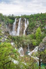 クロアチア 世界遺産 プリトヴィッツェ湖群国立公園