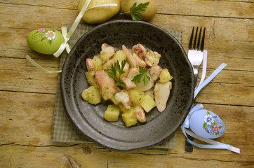 Totano y patate