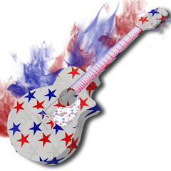 Fire America Guitar .