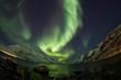 Aurora Borealis timelapse in Norway with fisheye lens