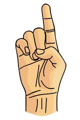 D Sign language image