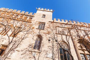 historische Seidenbörse in Valencia, Spanien