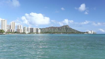 Diamond head mountain, Honolulu Hawaii