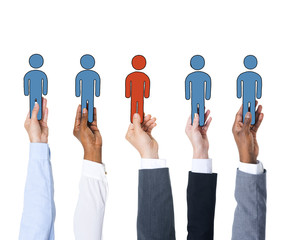 Business People and Individuality Concept