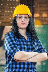 Craftswoman in her workshop
