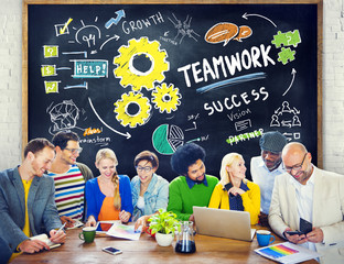 Teamwork Team Together Collaboration People Education Concept