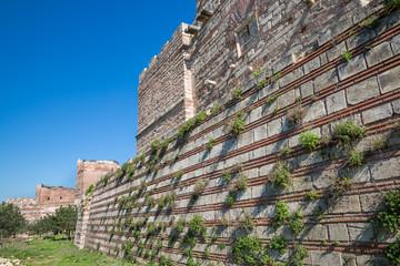 City walls of Istanbul, Theodosius stone wall