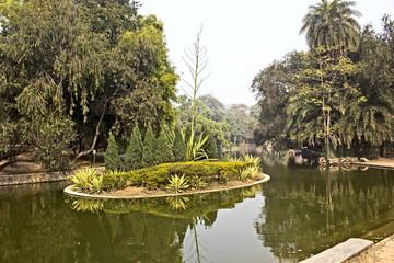 Pond in New Delhi