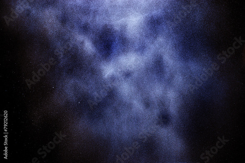 Poster Water planten abstract texture space starry sky galaxy background