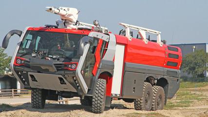 Camion de pompier pour aéroport