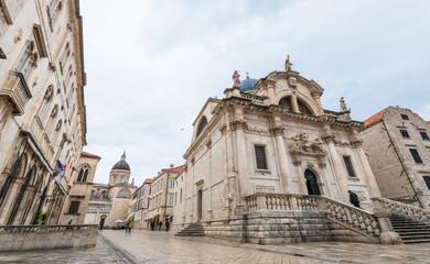 クロアチア ドゥブロヴニク 聖ヴラホ教会 Dubrovnik Croatia