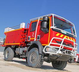 Beau camion de pompier