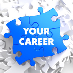 Your Career on Blue Puzzle.