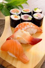 Sushi set plate