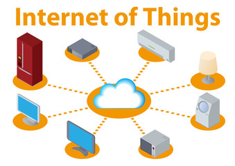 IoT(Internet of Things) image illustration