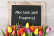 canvas print picture - Frauentag