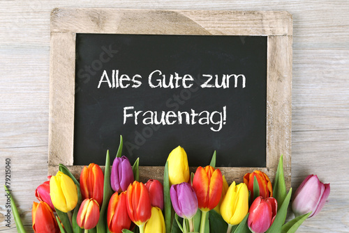 canvas print picture Frauentag