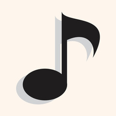 music note theme elements vector,eps