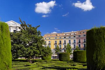 Park near Royal Palace - Madrid