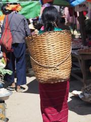 Mercado en Kalaw (Myanmar)