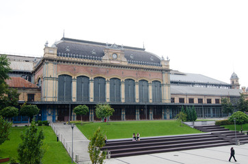 Budapest, Hungary, August 26th, 2014: Nyugati Railway Terminal