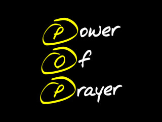 Power Of Prayer (POP), concept acronym
